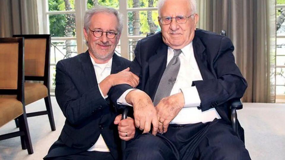 Falleció el padre de Steven Spielberg