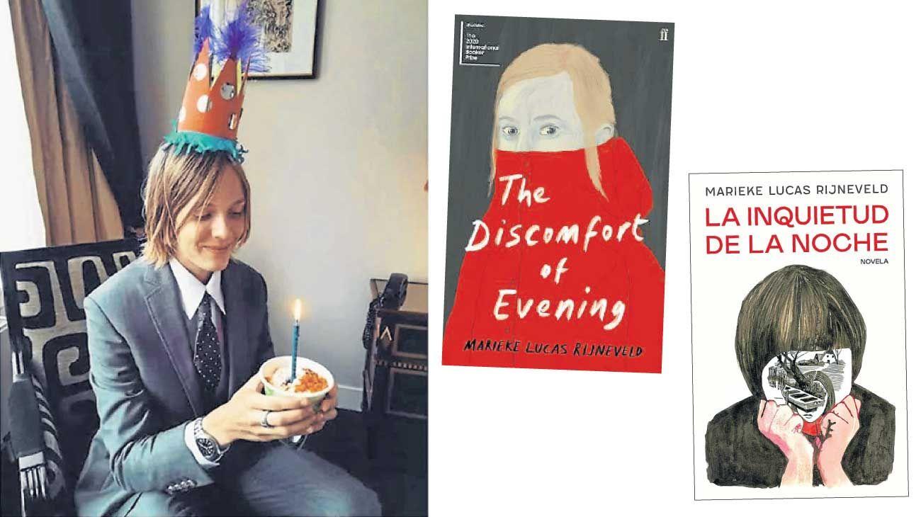 Rijneveld. La escritora holandesa resultó vencedora con su libro La inquietud de la noche, que acaba de ser publicada por el sello Temas de Hoy.