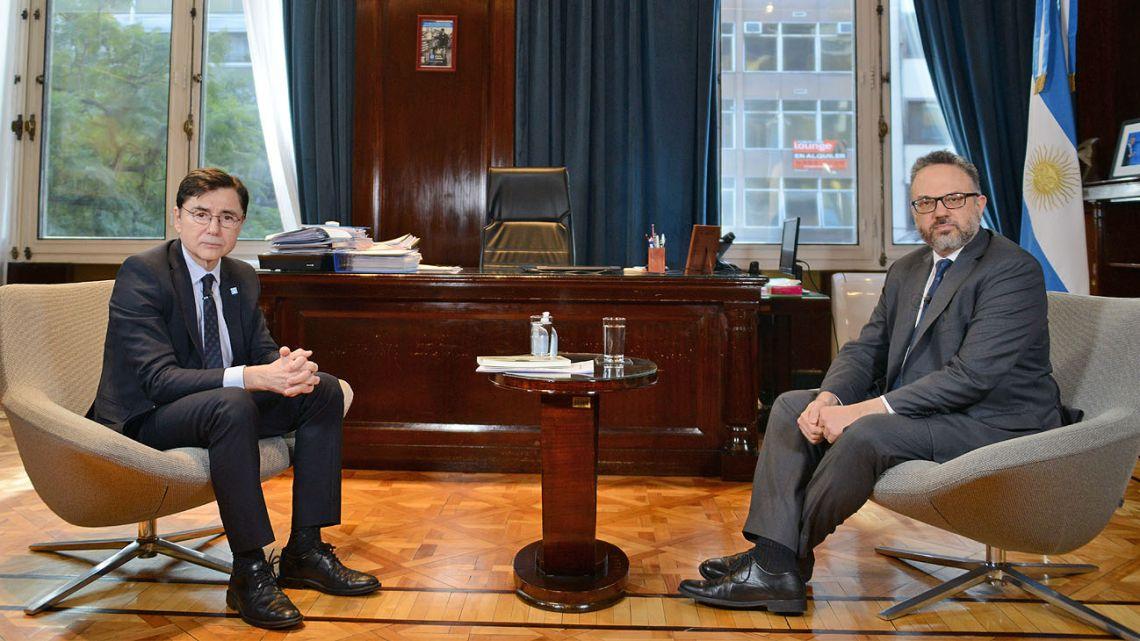 Matías Kulfas interviewed by Jorge Fontevecchia.