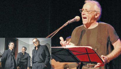 Show. El músico hará su primer show por streaming el próximo 5 de septiembre. Junto a la Cuadrilla Cultural Tanguera.