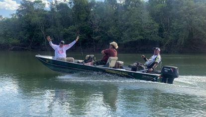 Este mes volvió la pesca al Amazonas, con protocolo.
