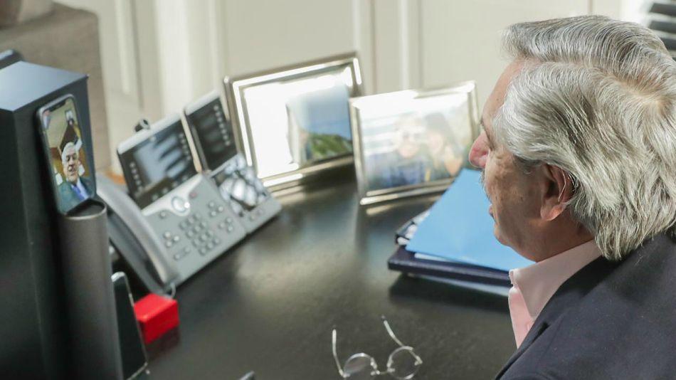 El Presidente habló con Sebastián Piñera tras eliminarse el cobro de roaming para la telefonía móvil entre Argentina y Chile