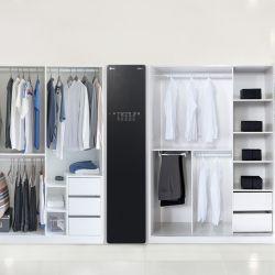 Una firma coreana desarrolló un armario especial que inyecta vapor en la ropa durante 20 minutos, desechando casi todo tipo de bacterias.
