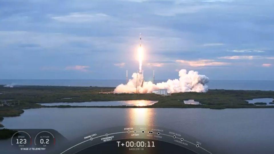 Lanzamiento del Saocom 1B