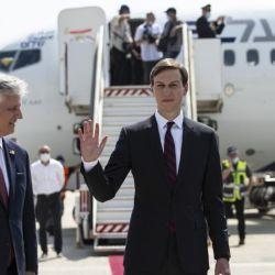 El vuelo partió del aeropuerto de Tel Aviv y aterrizó en el de Abu Dabhi.