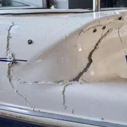 Una ola gigante provocó un choque en cadena de lanchas en el río Paraná, con graves consecuencias para las embarcaciones.