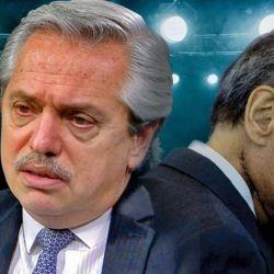 Alberto Fernández y Héctor Magnetto.