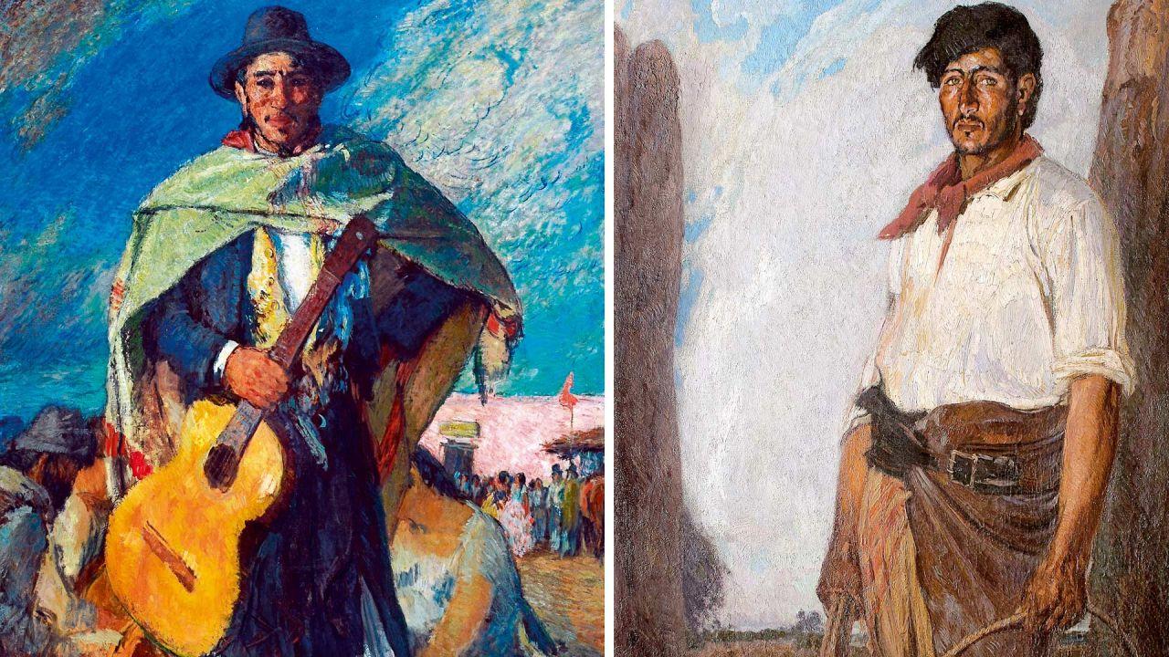 Dos cuadros clásicos de Quirós | Foto:Cedoc.