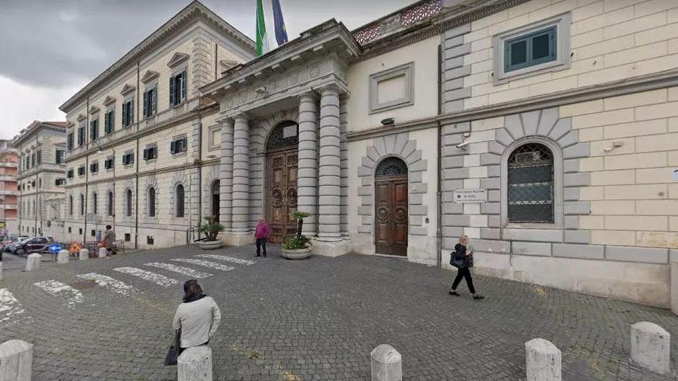 Hospital Militar Celio en Roma, Italia. 20200831