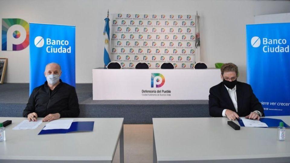 Banco Ciudad Defeonsoría Pueblo CABA