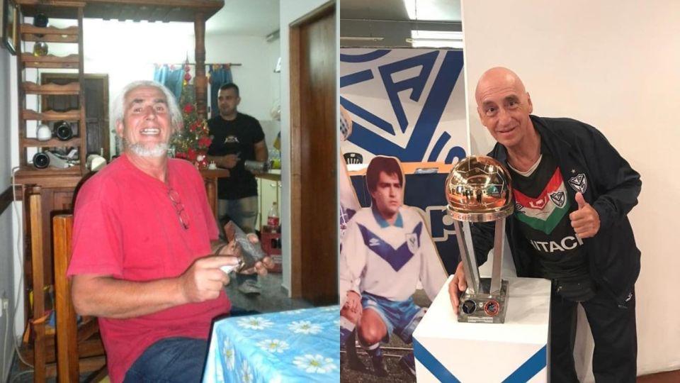 Eduardo Vicente Curto (dcha.), 66 años, y Roberto Gabriel De Biasi, (izq.), 64 años, murieron por coronavirus y sus familiares denunciaron que robaron sus pertenencias.