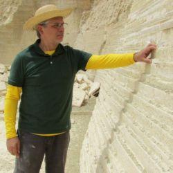 Según los investigadores, en ese yacimiento de Nueva Olinda hay rocas de entre 119 y 113 millones de años.