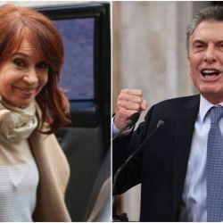 Cristina Fernández/Mauricio Macri.