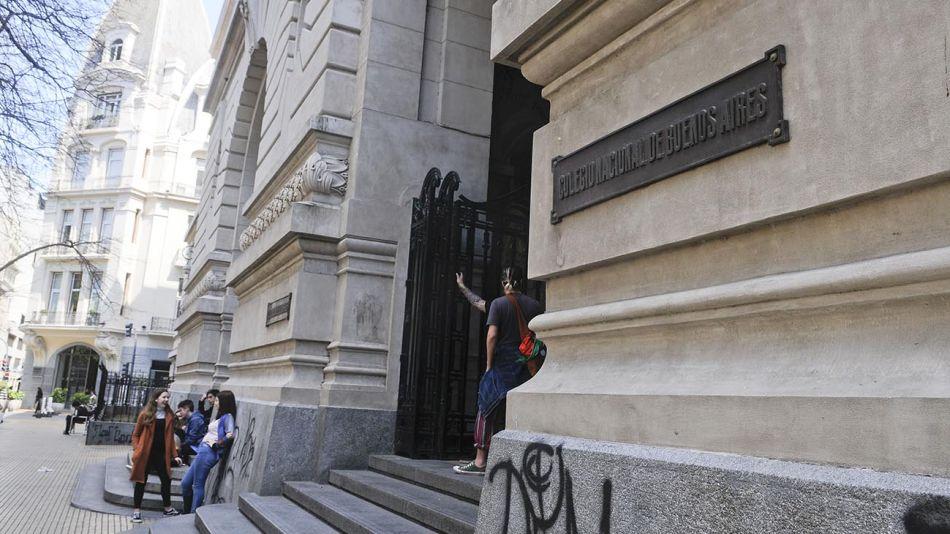 Colegio Nacional de Buenos Aires y el Colegio Carlos Pellegrini 20200901