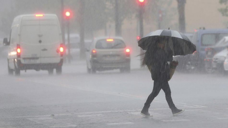 El SMN emitió alerta por abundantes precipitaciones 20200901