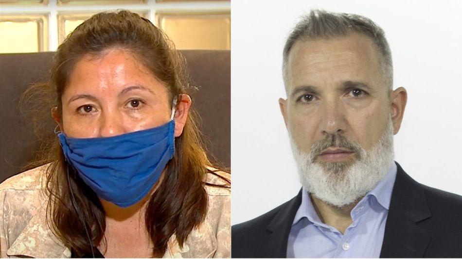 la mamá de Facundo Astudillo Castro y Pablo Duggan 20200901