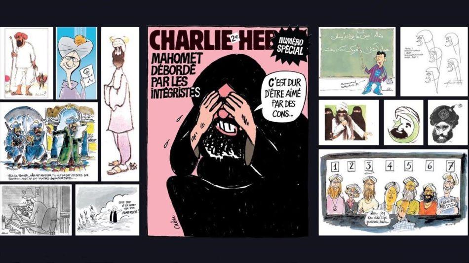 La revista Charlie Hebdo volvió a caricaturizar a Mahoma 20200901