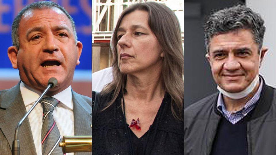 Luís Juez, Sabina Frederic y Jorge Macri