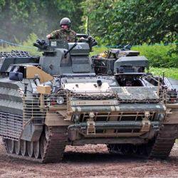 El vehículo de combate blindado Warrior fue considerado obsoleto en 2019.