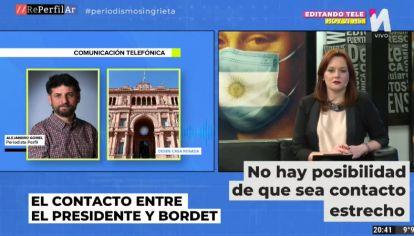 Alejandro Gomel para Reperfilar desde Casa de Gobierno