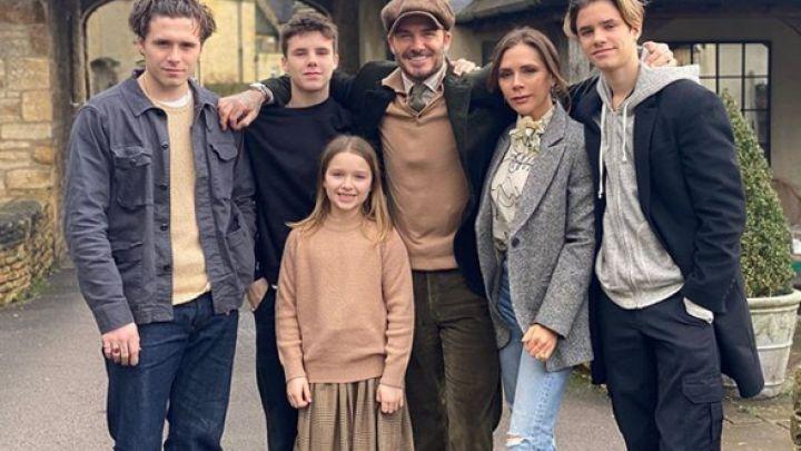 """Los Beckham celebraron el día de Acción de Gracias: """"Unidos en espíritu"""""""