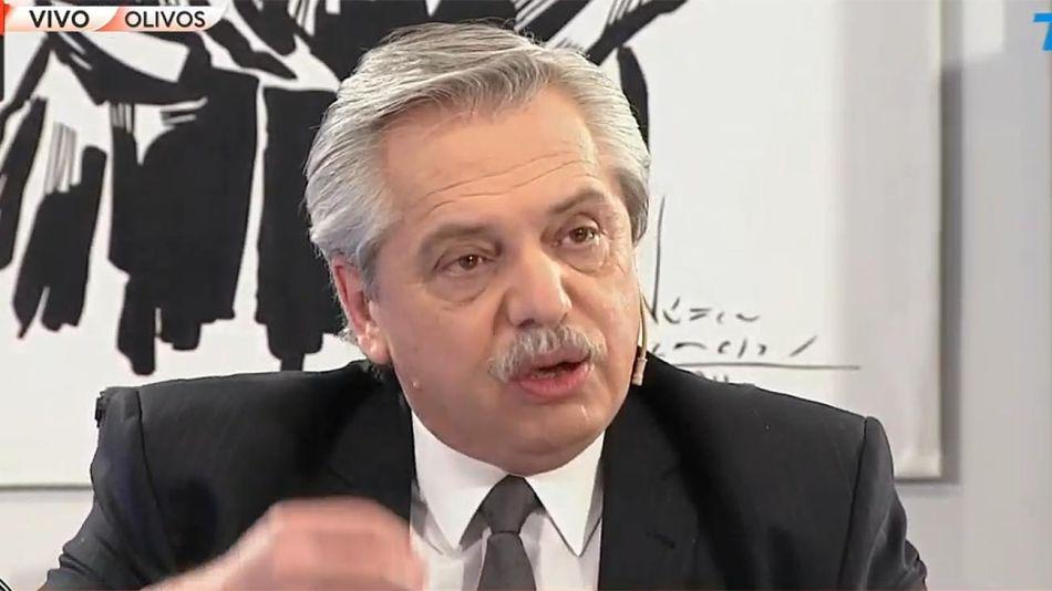 "ALBERTO FERNÁNDEZ EN ""A DOS VOCES"" 20200902"
