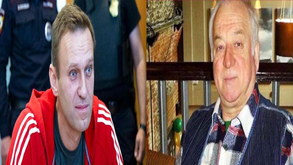 Collage Alexei Navalny y Sergei Skripal 20200902