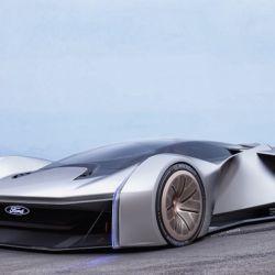 """Ford y el nuevo concept car del Team Fordzilla, el vehículo virtual desarrollado bajo el nombre clave """"Proyecto P1"""" y creado en conjunto con la comunidad gamer."""