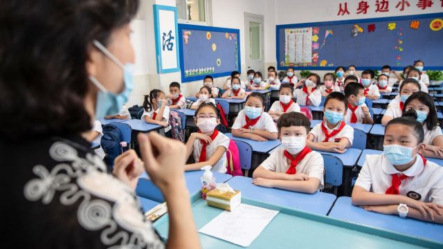 Vuelta a clases en Wuhan 20200903