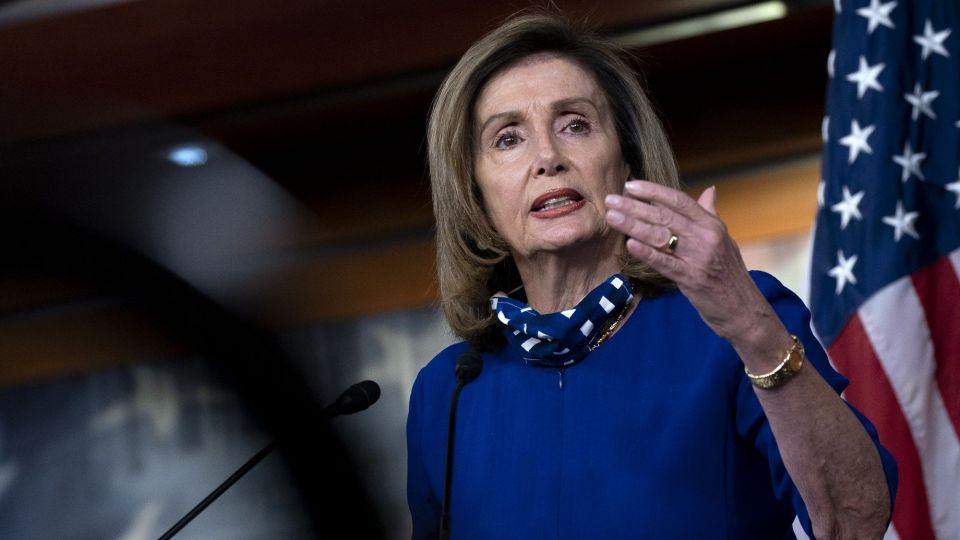 House Speaker Nancy Pelosi Holds Weekly News Conference