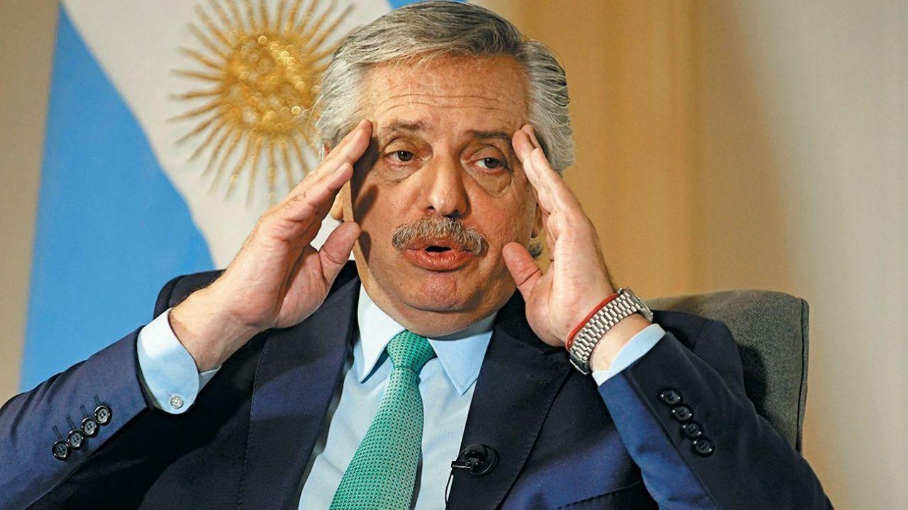 Alberto Fernández, presidente de la Nación.