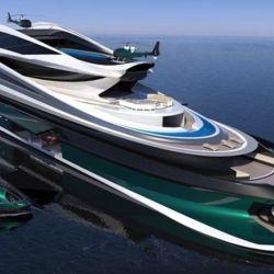 Pierpaolo Lazzarini diseño una de las embarcaciones más raras que hemos visto en los últimos tiempos.