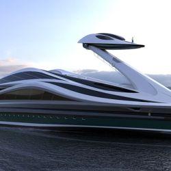Este megayate tiene 137 metros de eslora y una capacidad para 24 pasajeros.