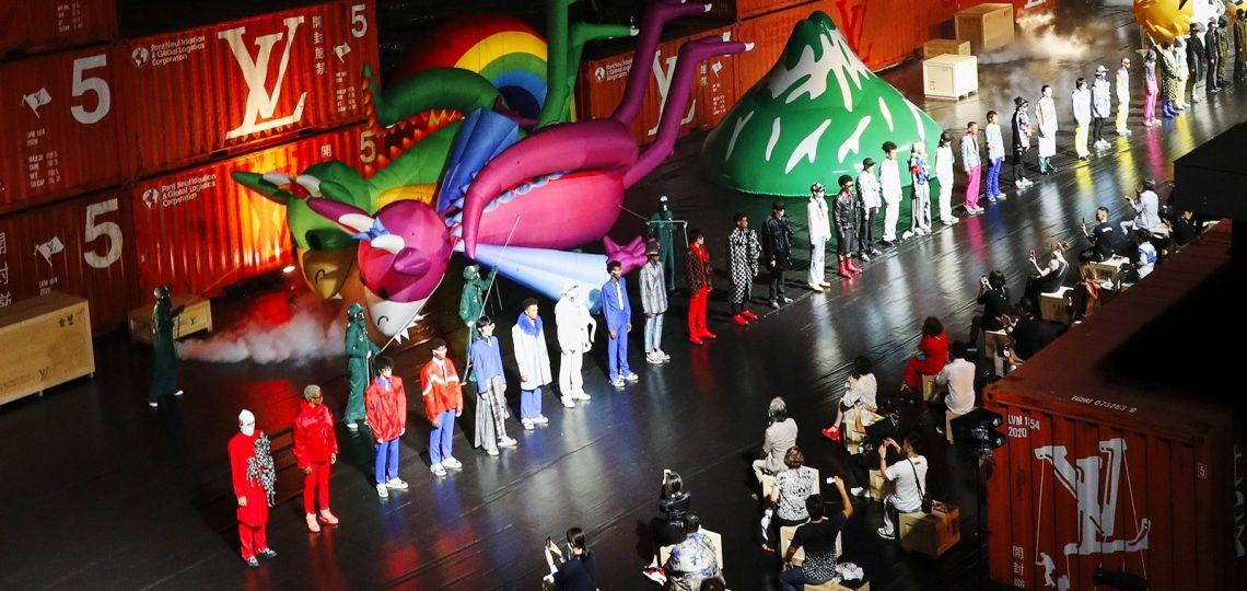 Louis Vuitton presentó su colección masculina en Tokio