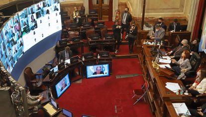 Sesión Reforma Judicial en Senadores