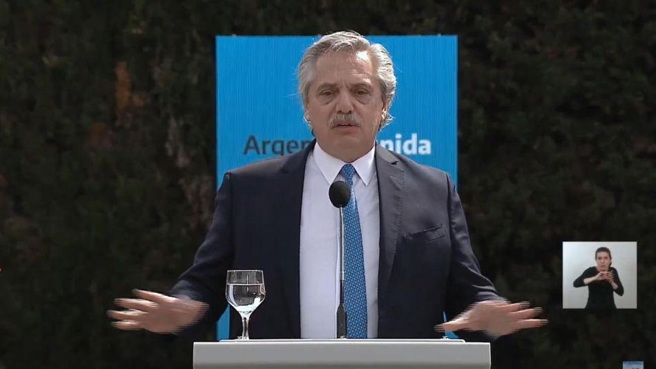 Alberto Fernández presenta el plan de seguridad para el AMBA 20200904