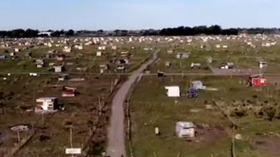 Tomas de tierras en el conurbano 20200904