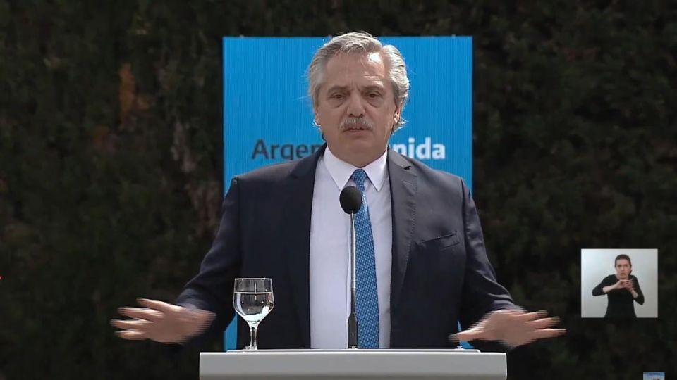 Alberto Fernández presenta el plan de seguridad para el AMBA