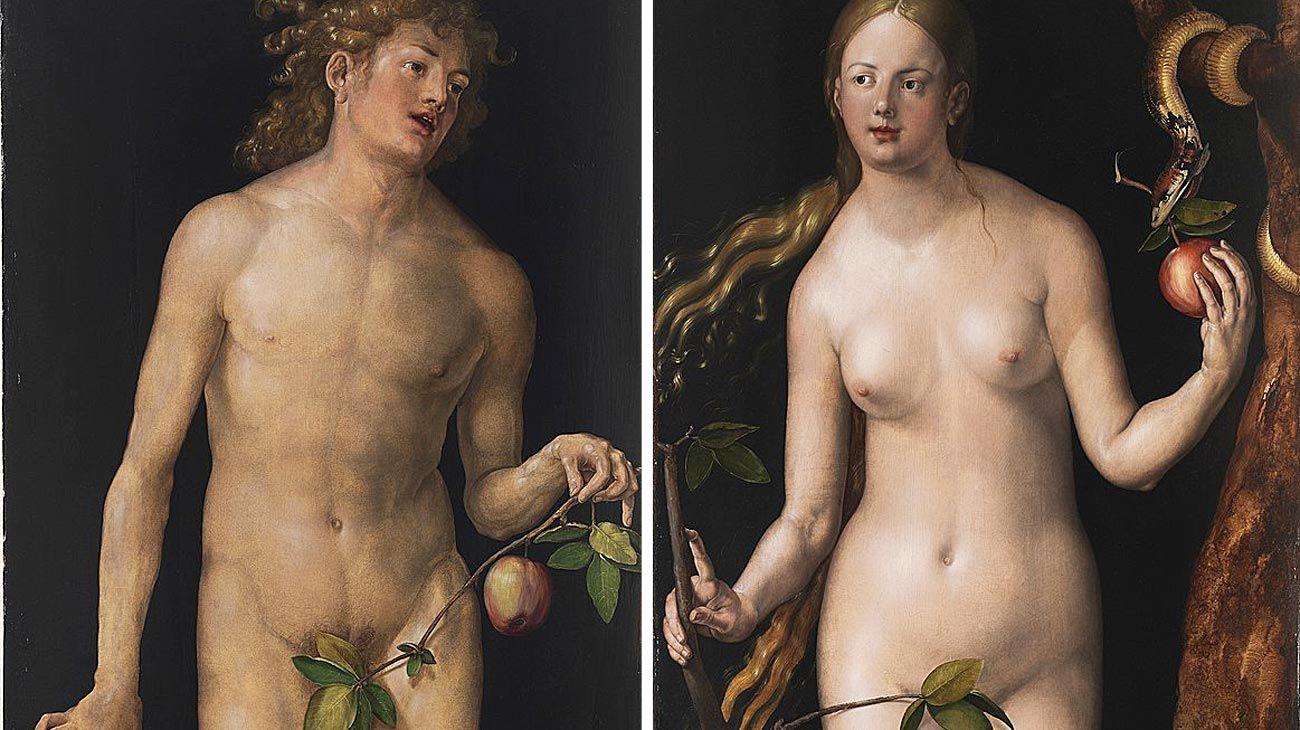 Adán y Eva (Durero) 1507.
