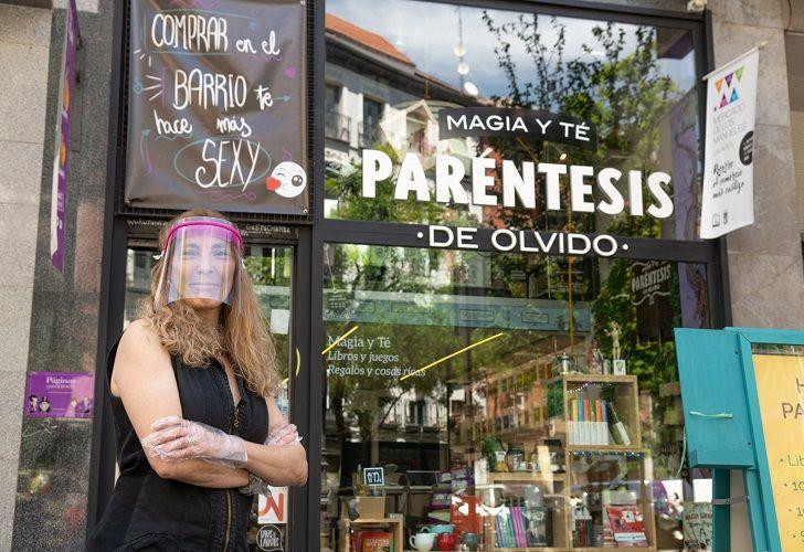 MAGIA Y TÉ. A la editorial, Avilés anexó una tienda de té donde además se dictan clases y espectáculos de magia (momentáneamente suspendidos por el COVID-19).