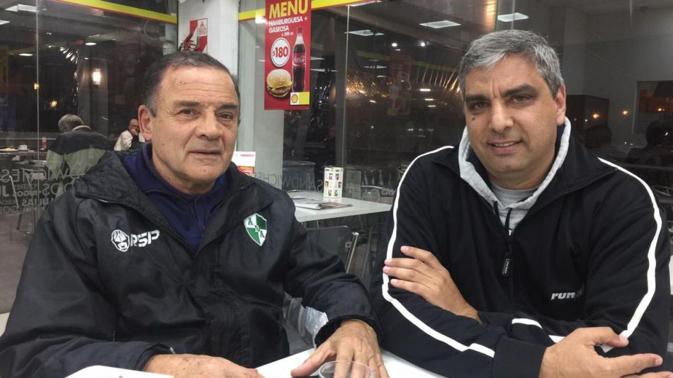 Felipe Lábaque y Osvaldo Arduh