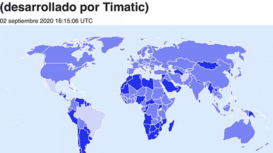 Mapa Iata