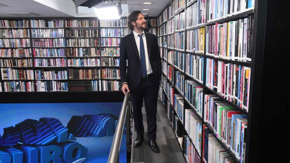 Santiago Cafiero, en la entrevista con Jorge Fontevecchia.