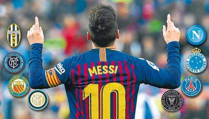Con este no, con este tampoco. Durante diez días sólo circularon versiones o sospechas. Leo al final se quedó en el Barcelona y los desmintió.