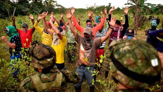Fotogaleria Colombia Cocaleros Protestas