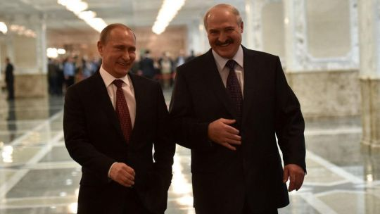 Putin y Lukashenko comparten el mismo perfil de líder autócrata.