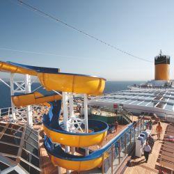 Los cruceros de Costa no vendrán a Sudamérica el próximo verano.