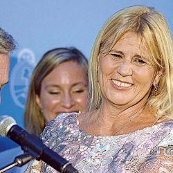 Marcela Losardo el día que juró como ministra de Justicia. | Foto:Cedoc.