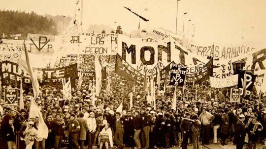 En el 50 aniversario, Montoneros reivindicó su lucha.