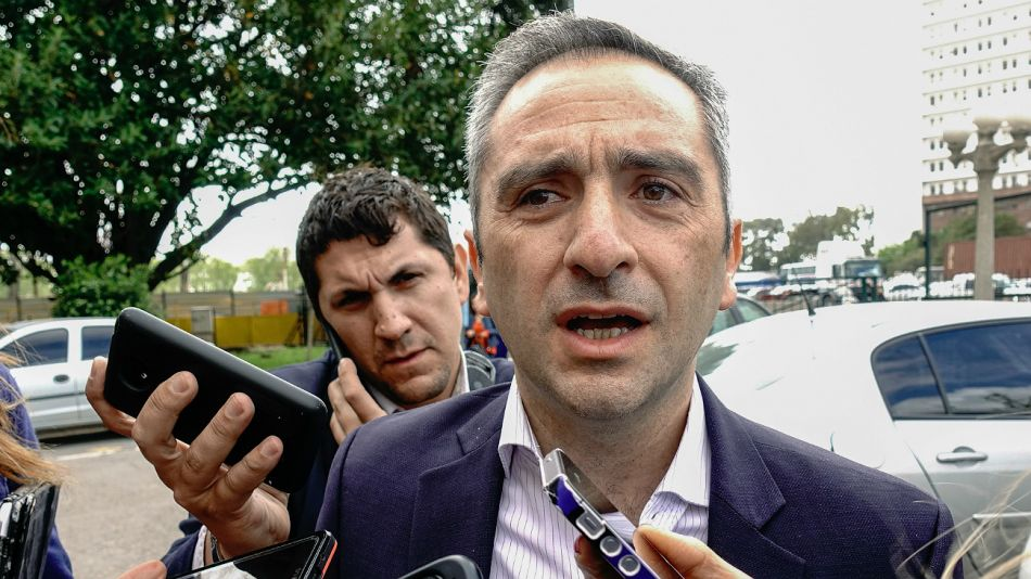 Andrés Larroque, ministro de Desarrollo Social bonaerense.